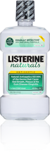LISTERINE® mouthwash launches floss and NATURALS